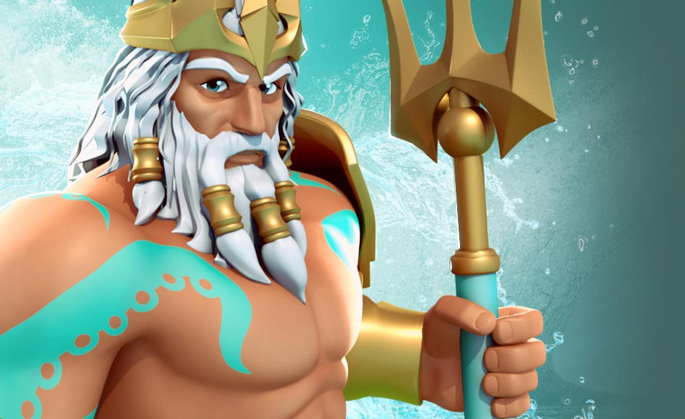 October 2017 Update Poseidon Is Here Gods Of Olympus